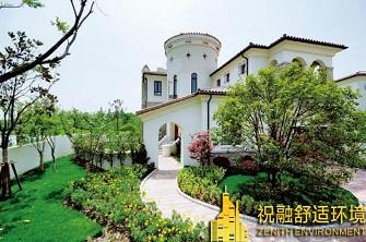 上海天马高尔夫别墅地源热泵