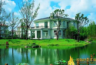 上海金爵别墅地源热泵